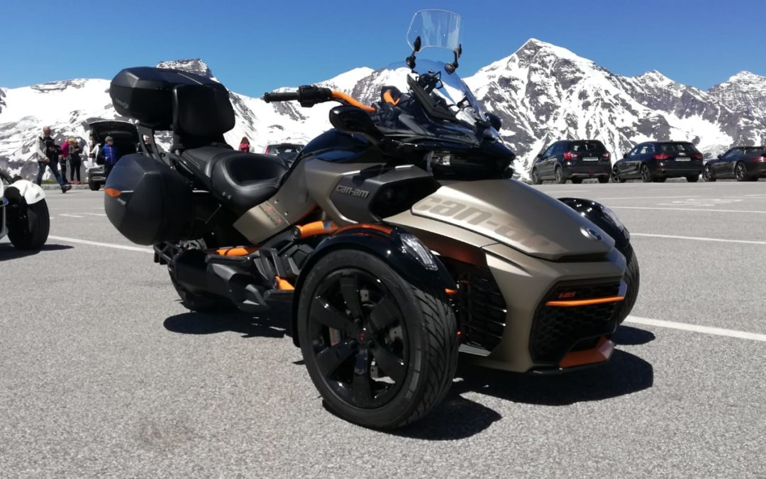 Spyder am Grossglockner
